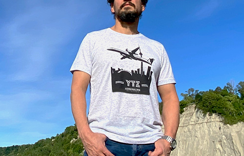 Men's T-Shirt Category - Q400 YTZ